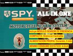"Alarma de moto SPY ""ALL IN ONE"". Compacta y autoalimentada"