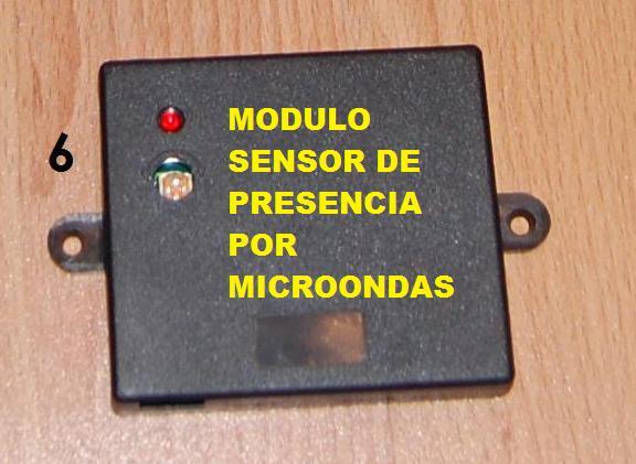 Alarma spy 5000 con m dulo sensor de presencia por for Sensor de presencia