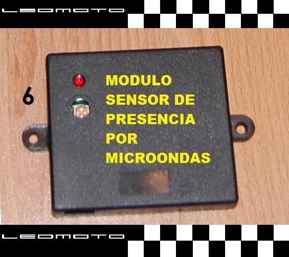 Alarma de coche spy de 2 vias con sensor de presencia for Sensor de presencia